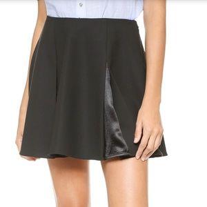 Elizabeth & James Pleated Mini Skirt